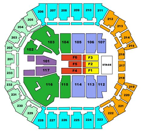 time warner seating chart time warner cable arena tickets