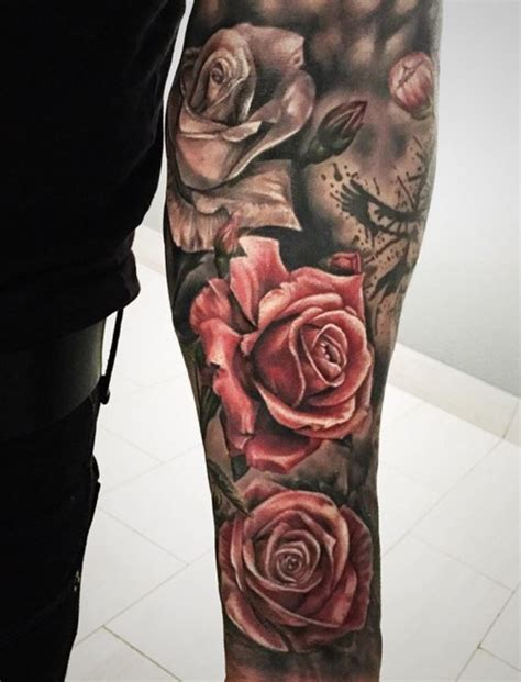 flower tattoo sleeves designs best 25 sleeve tattoos ideas on