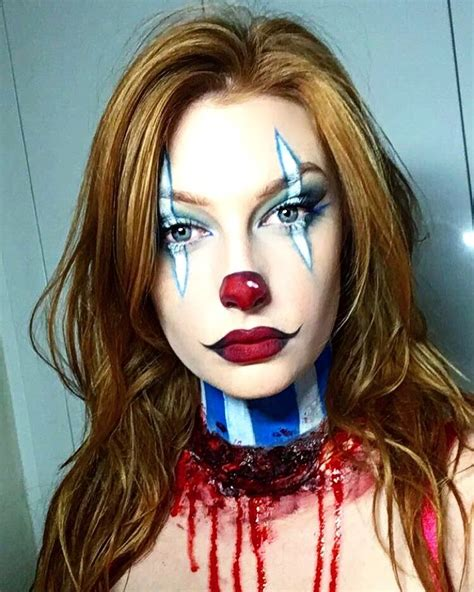 halloween makeup tutorial liquid latex clown makeup for halloween very simple and easy to do