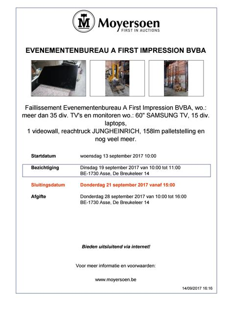 koffiemachine uit faillissement evenementenbureau a first impression bvba by moyersoen issuu