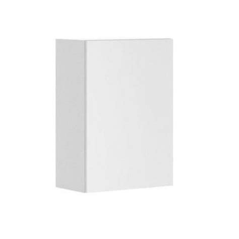 fabritec 21x30x12 5 in alexandria wall cabinet in white melamine and door in white w2130 w
