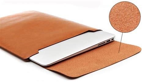 Macbook Pro Untuk Desain cover macbook kulit sleeve pelindung macbook dengan desain slim simple