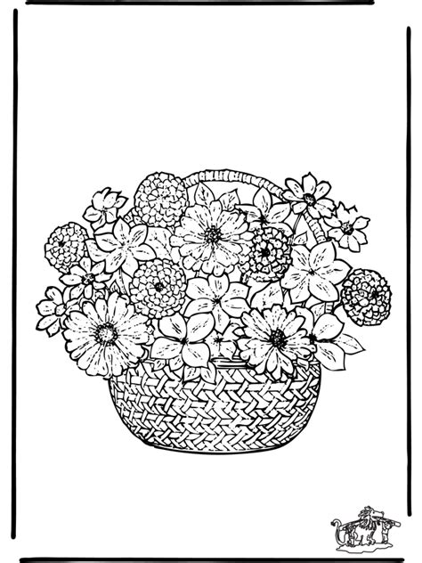 Flower Coloring Pages For Adults Flower Coloring Page Coloring Pages For Flowers