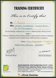 Batch Plant Operator Sle Resume by Batching Plant Operator Resume
