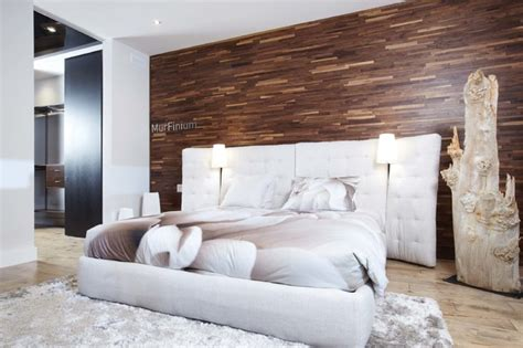 friendlywall wood paneling contemporary bedroom salt