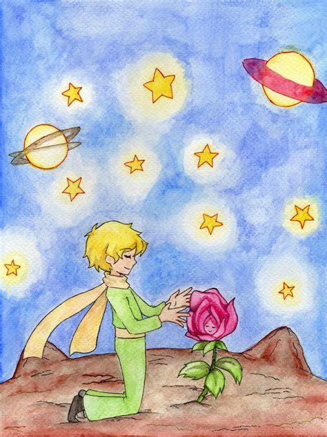 el principito el principito y su rosa by lebasilig on