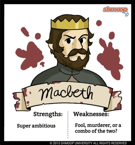 macbeth themes shmoop macbeth in macbeth