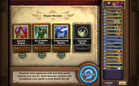 hearstone deck deck recipe feature coming soon hearthstone metabomb