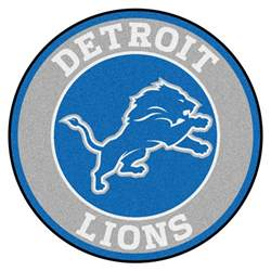 Natural Fiber Area Rug Detroit Lions Logo Roundel Mat 27 Quot Round Area Rug