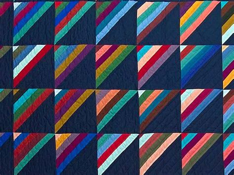 Stripe Quilt by Amish Stripe Quilt Quilting