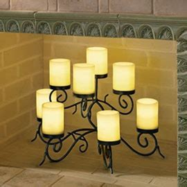 candle holder for inside fireplace candle holder nicely arranges your candles inside the