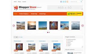 template toko online keren download template blogger toko online keren gratis