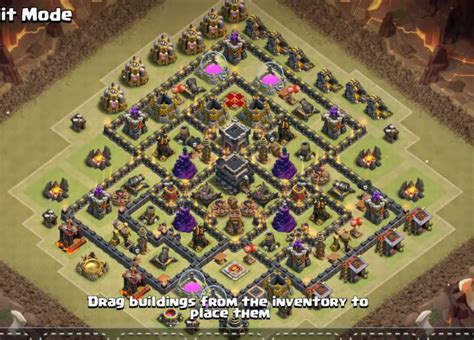 th9 base with war bomb tower 2016 top 20 best th9 war base layouts 2018 new anti 2 stars