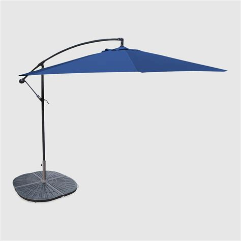 World Market Patio Umbrellas 10 Royal Cantilever Umbrella And Weight Base World Market