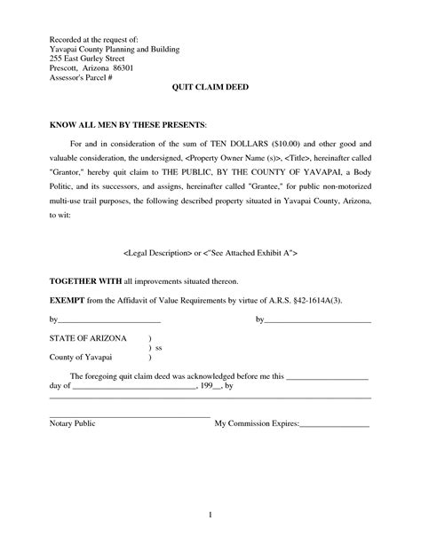 free printable quit claim deed form arizona michigan quit claim deed form free michigan quit claim