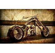 Vintage Chopper Wallpaper  Best HD Wallpapers