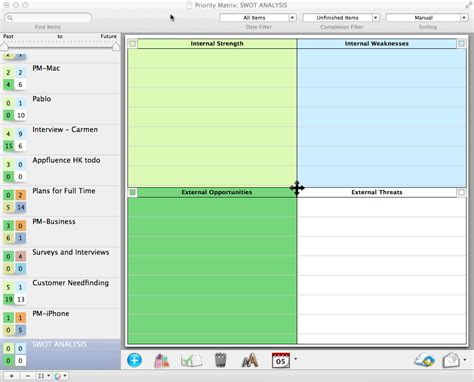 swot analysis templates software template for ios mac