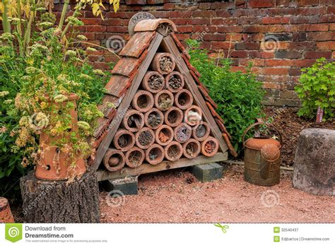bug house plans bug or insect house royalty free stock photography image 32540437