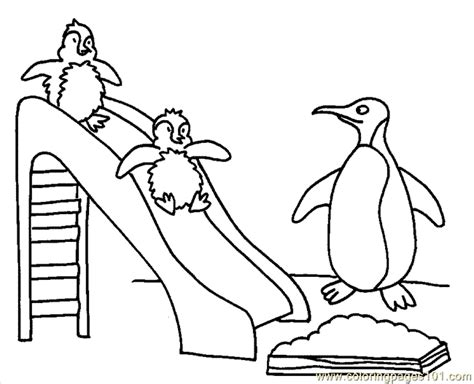 penguin coloring page pdf coloring pages penguin coloring page 4 birds gt penguin