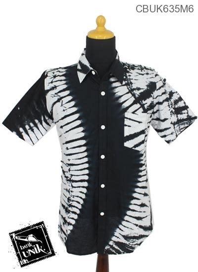 Toxusav Atasan Motif Hitam Putih Rok Pendek Rok Motif Setelan baju batik kemeja motif jumputan hitam putih kemeja
