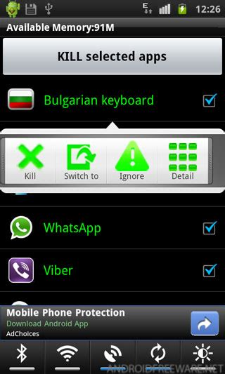 kill apps android mt task killer auto kill free android app android freeware