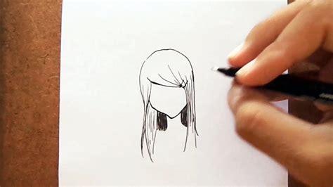 desenho femininos como desenhar cabelo feminino de mang 225