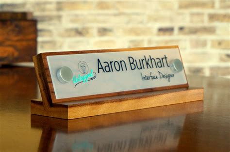 Custom Desk Signs by Logo Sign Desk Name Plate Custom And Personalized Size 10