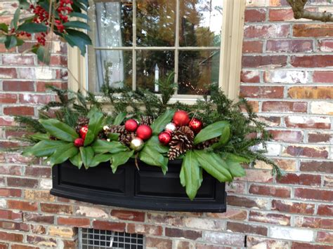 window box ideas for winter 50 best outdoor decorations for 2017 winter