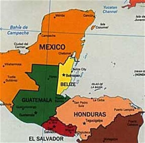 map of mexico and belize belize maps travel guides central america