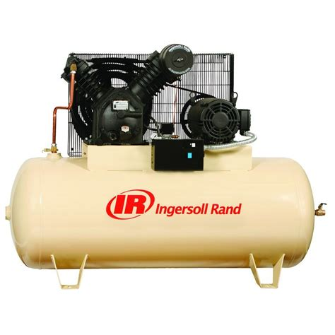 Tool Kit Electric Hozan Type S 10 230 ingersoll rand type 30 reciprocating 120 gal 10 hp electric 230 volt 3 phase air compressor