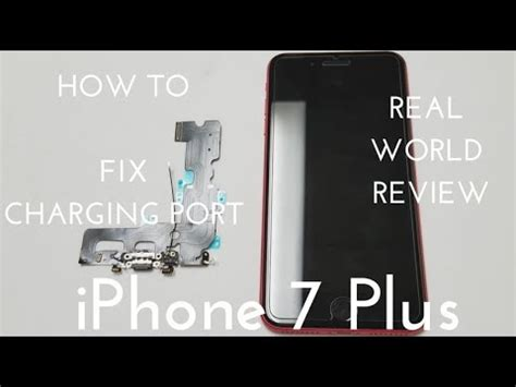 iphone 7 plus charging port replacement fix all your charging issues
