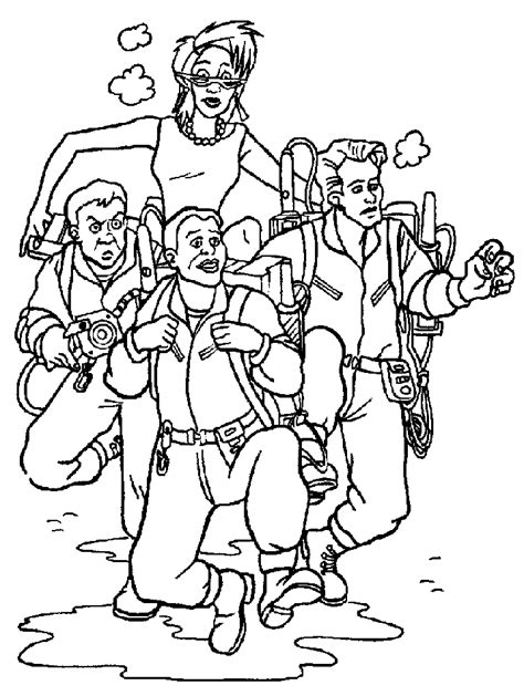 printable ghostbusters coloring pages coloring me