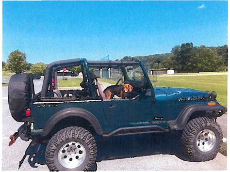 Jeeps For Sale In Frederick Md 1995 Jeep Yj For Sale By Owner In Frederick Md 21703