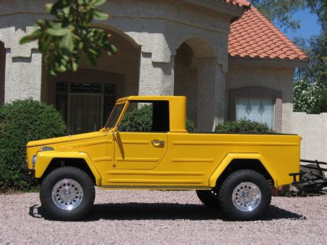 volkswagen thing 1973 volkswagen thing pickup 43364