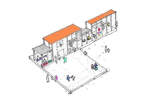 Daycare Floor Plans refugees tag archdaily