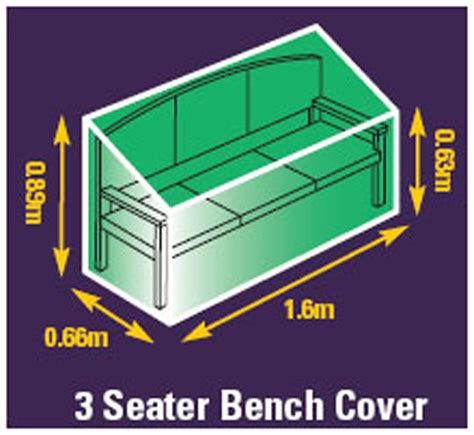 3 seater bench cover garden bench cover 3 seater premium woven polyester