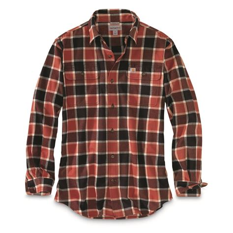 M Plaid Shirt carhartt s hubbard plaid shirt 700856 shirts