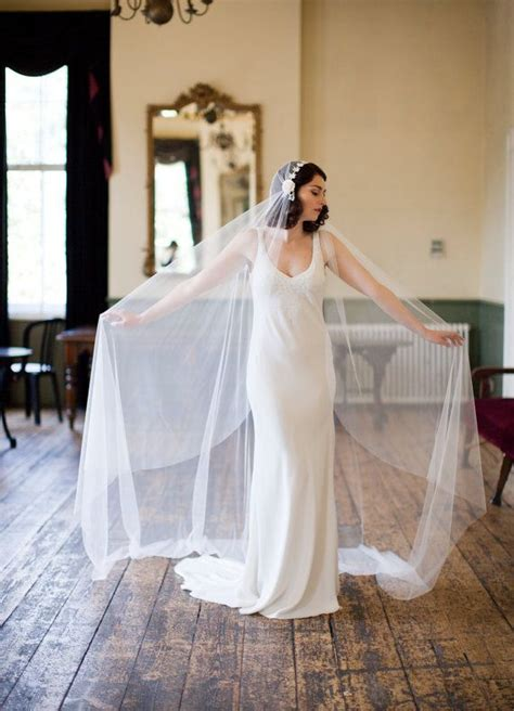 juliet cap veil great gatsby bridal veil  inspired