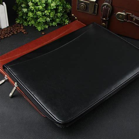 Gucci Convention Travelers Bags 8701 zipper leather compendiums folder leather portfolios a4 size leather portfolio conference