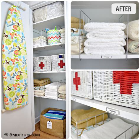 happily a housewife kid friendly hall closet organization 15 home organization projects to a happier home how to