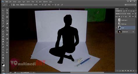 cara membuat gambar orang 3d cara membuat efek 3d di photoshop totalitas tanpa batas