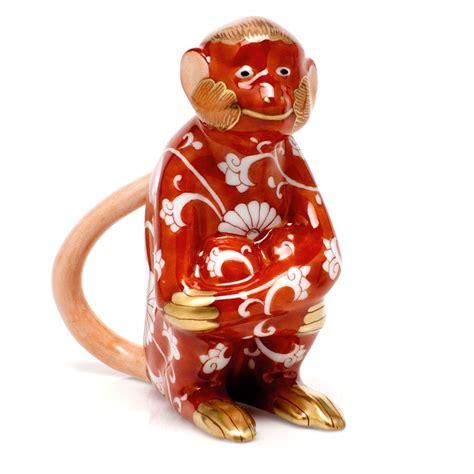 new year monkey figurines herend zodiac year of the monkey figurine