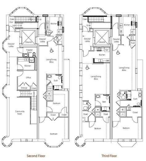 brownstone floor plans brownstones at