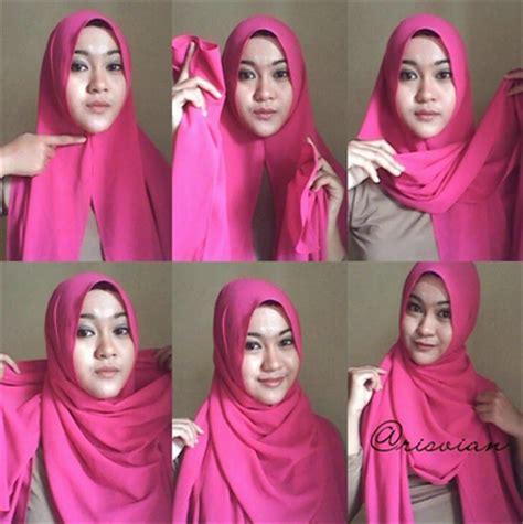 tutorial hijab modern ala zaskia sungkar terbaru
