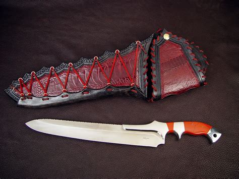 Handmade Unique - quot artemis quot custom handmade knife by fisher