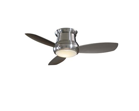 flush mount ceiling fans with light and remote