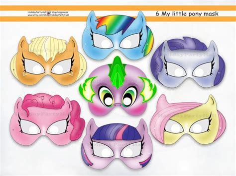 printable pony mask 7 best images of my little pony masks printable free my