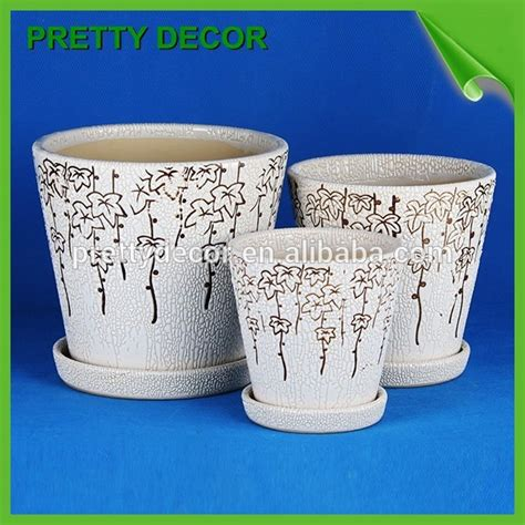 Cheap Flower Pots And Planters by Cheap Ceramic Flower Pots And Planter Small White