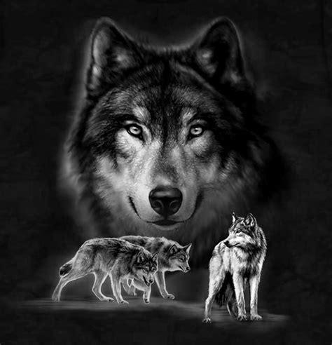 Tshirt Alpa Animal wolves at
