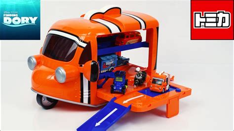 Tomica Nemo finding dory nemo carry tomica disney moters review